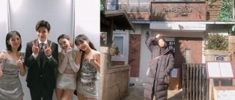 姜河那粉絲認證 TWICE定延親赴《山茶花開時》拍攝地打卡