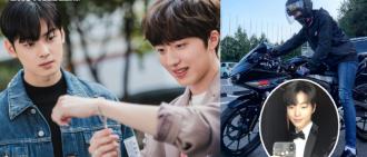 SF9澯熙特別客串《女神降臨》黃仁燁為角色考電單車牌
