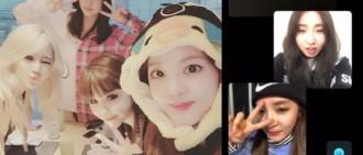 2NE1出道11周年 四成員貼Factime通話片感謝粉絲