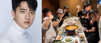 世勳曬EXO合體聚餐照 D.O.入伍當日出Solo安慰粉絲