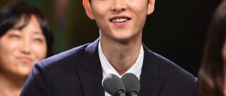 宋仲基獲選「今年最佳廣告代言人」 AOA雪炫位居第二