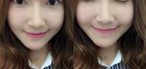 少時潔西卡換髮型轉換心情 剪劉海露甜美笑容