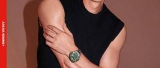 柳演錫最新雜誌寫真曝光 黑色無袖展完美肌肉線條