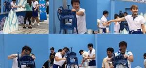 《無限挑戰》成員末伏送好禮 請市民吃自制刨冰