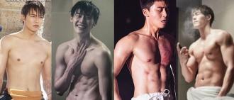 紙片人增肌變肌肉猛男 四大男神靠健身「華麗變身」