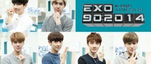 EXO推新節目《EXO 90:2014》 神話當首集嘉賓