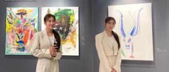 河智苑正式以畫家身份出道 首次參展三幅作品已賣出一幅