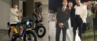 GD孖姐夫於豪宅玩電動單車 家姐徇眾要求發片分享