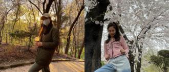 孫藝珍、Jennie曬甜笑賞櫻照 粉絲起鬨競猜掌鏡人身份