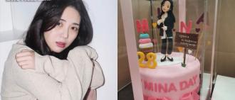 珉娥27歲生日粉絲狂送禮 公司:感謝大家疼愛,會好好轉達