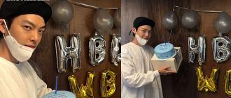 金宇彬公開32歲生日PARTY相 健康帥氣模樣令人欣慰