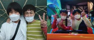 吳政世化身「尚泰」與精神病患者手拖手遊樂園 暖心行動獲網民大讚