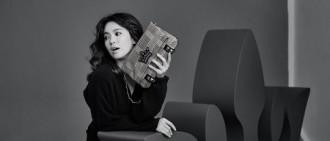 宋慧喬拍攝J.ESTINA秋冬新款 演繹知性幹練新女性