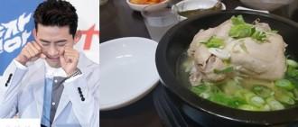 「打架吧鬼神」玉澤演 三伏天參雞湯照片 充滿撒嬌
