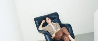 職場西裝套裝展知性魅力!宋慧喬拍服裝品牌宣傳照