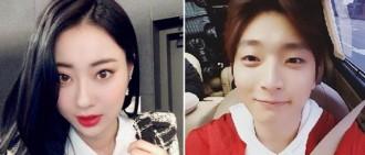 2AM出身鄭珍雲與Nine Muses倞利被曝已戀愛2年