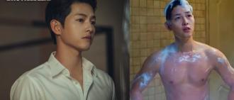 曬外語兼出浴騷肌 宋仲基新劇首播收視排tvN歷代第3高