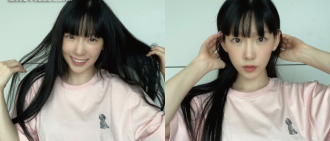 逆齡秘密在於髮型?太妍全新黑髮造型秒變「學生妹」