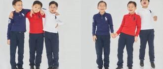大韓、民國、萬歲今8歲牛一 爸宋一國曬照願三子友愛成長