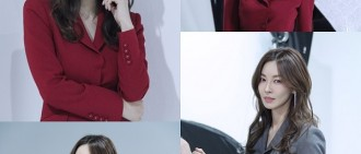 《Secret Mother》花絮照 金素妍正裝顯魅力