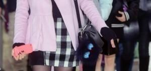少女時代結束了中國方面的行程回到韓國再展機場時尚