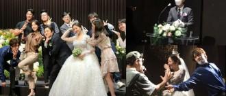 《RM》元老級製作人結婚 劉在錫做司儀Haha光洙搞氣氛圍住新娘熱舞
