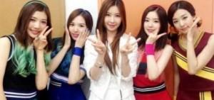 "SM新女團Red Velvet出道歌曲""Happiness""在眾多音源排行榜日榜,實時排行榜中排在前列,顯示可怕的音源潛力"