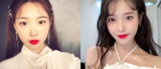 粉絲揉眼:哪個才是IU? 200萬韓網紅淡妝「撞臉宣美」登熱搜