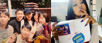 李孝利分享20年前與粉絲合照 製作人即留言:姐姐那個是我