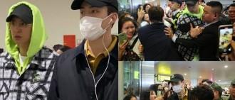 明星私隱泄露 EXO世勛燦烈護照頁網上瘋傳 疑似越南機場被偷拍