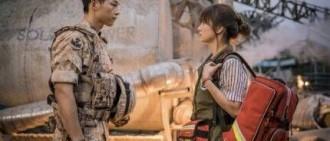 《太陽的後裔》柳時鎮本來是醫生多虧了金恩淑才變成軍人