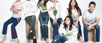 C-JeS娛樂藝人拍環保寫真 金在中羅美蘭等出鏡