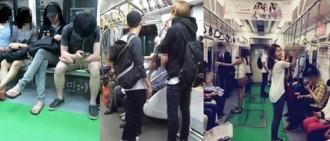 這些idol也曾被發現乘坐過公共交通工具
