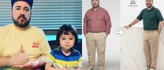 威本聯盟爸爸Sam加入減肥戰團 一個月已減14kg效果驚人
