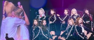唱著就哭了!Mina缺席新加坡演唱會成員喊話:永遠都是9個人