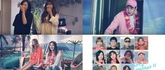 普美,南珠,采妍,LE 等22日發行夏季單曲