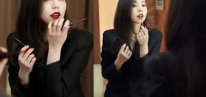 安昭熙,美妝畫報的無修正幕後照公開 「女演員氣場炸裂」