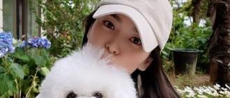 清純鄰家姐姐!宋慧喬社交網站釋出與寵物犬合影