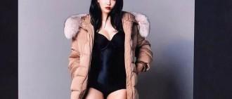 T-ara孝敏公開最新廣告拍攝花絮照,溢出屏幕的性感!