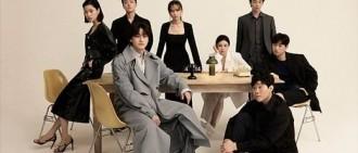 新韓劇《至上之法》主演金汎金明民柳慧英等拍寫真