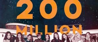 《Like OOH-AHH》點擊破2億 TWICE再創新紀錄