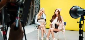 少女時代Jessica-f(x)Krystal攜手代言 姊妹美貌無人能敵
