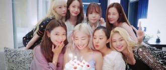 Tiffany返韓撞正生日 少時8人再合體開心慶生