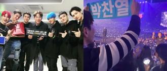 獲EXO邀請做一日經紀人又免費睇騷 張聖圭舉「朴燦烈」手幅加入大叫我愛你