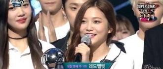 Red Velvet榮登三冠王 橫掃各大音樂節目的跡象