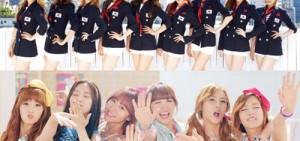 少女時代-2NE1-A Pink被Gaon排行榜列為三大銷量女團