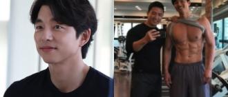 孔劉日每日健身三粒鐘 健身教練泄澎湃肌肉照