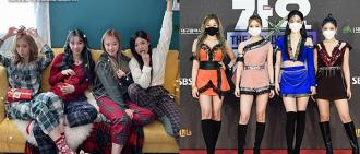 aespa《SBS歌謠大戰》服裝被嘲老土 網民:是得罪了造型師嗎?