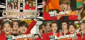 EXO《音樂銀行》獲第四個1位,獲獎感言不忘TAO-LAY