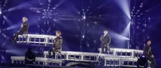 SHINee舉辦日本巡演 四場公演動員18萬人
